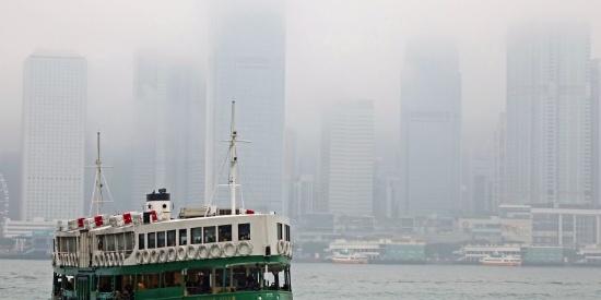 香港维多利亚港唯美风景摄影图片大全