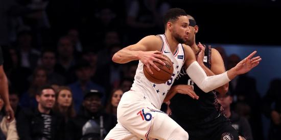 NBA季后赛首轮:76人-篮网G3