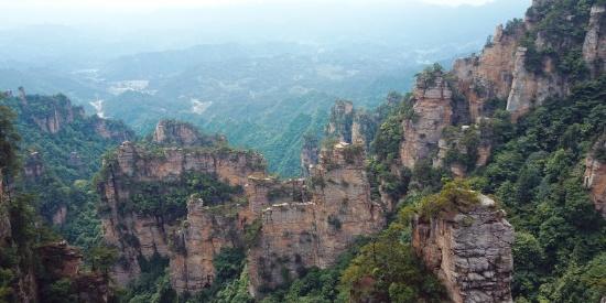 湖南张家界旅游景点风景摄影图片特写