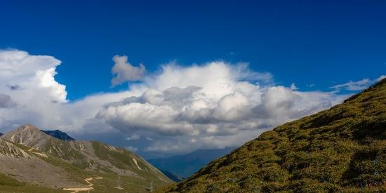 四川甘孜高原自然风景图片