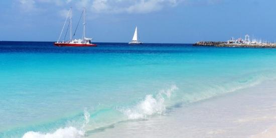 巴巴多斯海滩风景图片