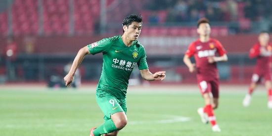 张玉宁建功 国安1-0华夏6连胜平纪录