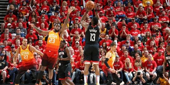 NBA季后赛首轮:火箭VS爵士