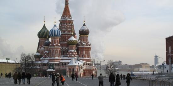 俄罗斯莫斯科红场建筑风景图片