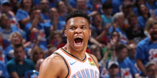 NBA季后赛首轮:开拓者-雷霆G4