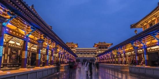 襄阳唐城风景摄影图片壁纸