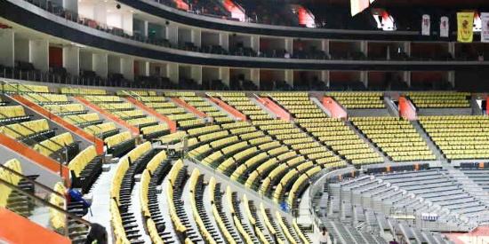 总决赛助威T恤安排上了!广东主场成黄色海洋