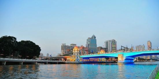中国第二大河流珠江风景摄影图片壁纸