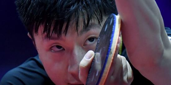 世乒赛马龙淘汰萨姆索诺夫 率先进16强