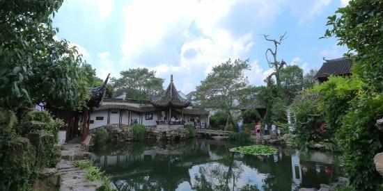 苏州园林网师园人文风景图片
