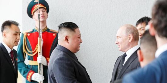金正恩与普京首次会晤 将进行一对一会谈
