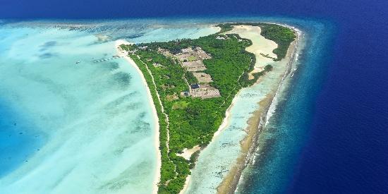 马尔代夫珊瑚岛唯美风景图片壁纸