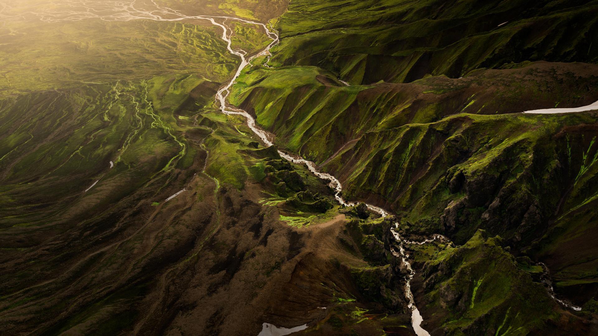 唯美山水风光美景高清桌面壁纸图片