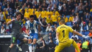 西甲第38轮:西班牙人2-0皇家社会