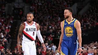NBA季后赛西部决赛:勇士-开拓者G3