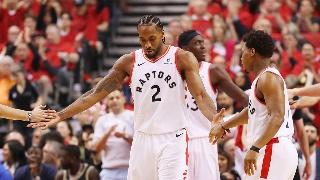 NBA季后赛东部决赛G3:猛龙-雄鹿