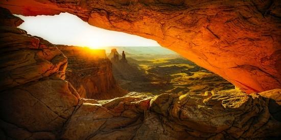 峡谷地貌图片