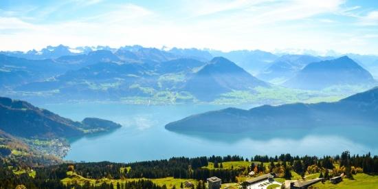 人间天堂瑞士自然风景图片