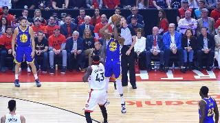 NBA总决赛:勇士VS猛龙G5