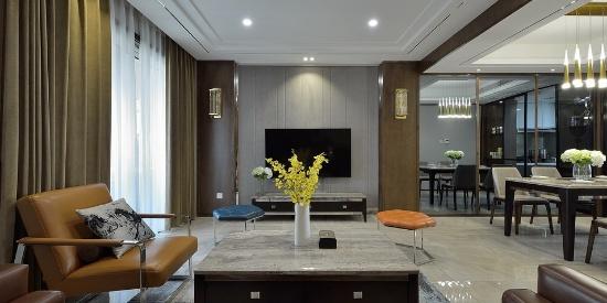 170平米复式楼房客厅装修效果图大全