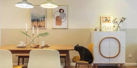 116㎡简约原木风,温馨舒适的空间感