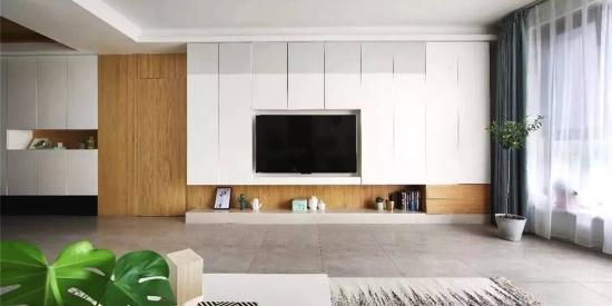 电视墙这样装,实用兼具高级感,如今正流行!