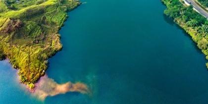 航拍印尼小岛图片