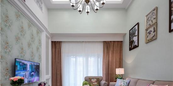 现代美式风格复式公寓装修效果图大全