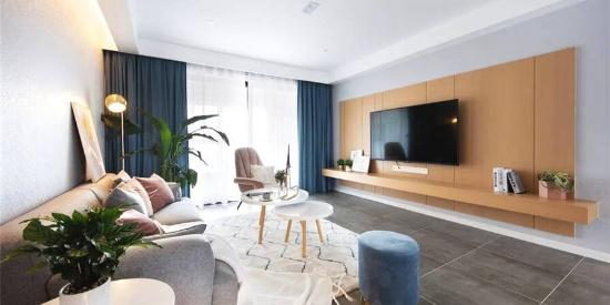 140㎡清新北欧3室2厅,轻松而美好的舒适生活
