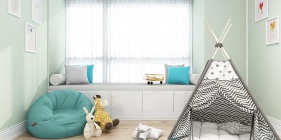 北欧风格儿童卧室设计图片