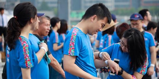 """七月七,跑步做公益:大华银行""""爱心公益跑/行""""活动上海站"""