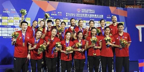 中国女排二队复仇土耳其 获世联赛季军