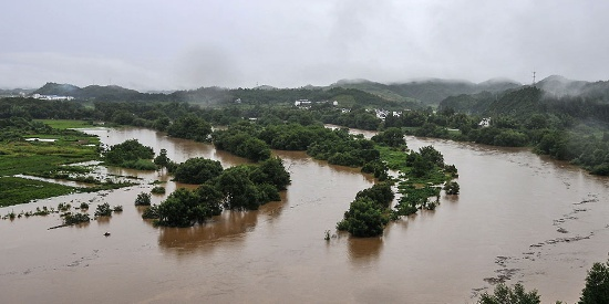 暴雨已致江西22.8万人受灾 紧急转移安置6351人