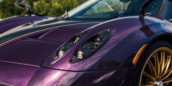 紫碳帕加尼Pagani Huayra
