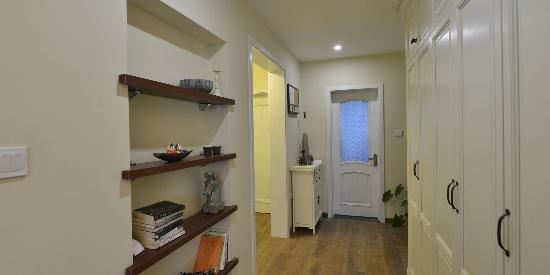 小户型二居室美式装修风格样板房图片