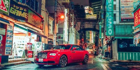 东京,劳斯莱斯-曜影Black Badge