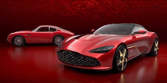 阿斯顿马丁DBS GT Zagato量产版官图 & 预展模型
