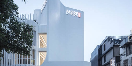 ArchUnits一栋设计-静安商楼建筑更新:柔化的气场