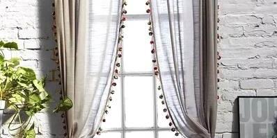 窗帘这么挂,真的不想出门了!