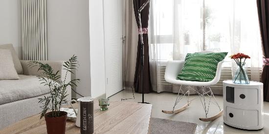复式小户型装修二居室客厅设计效果图