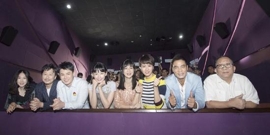 电影《小Q》剧组亮相网易娱乐观影团