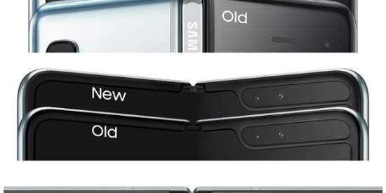 三星官方公布已修复版Galaxy Fold高清渲染图