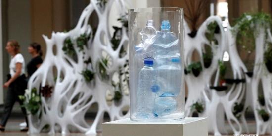 德国展出世界首个3D打印动植物栖息装置