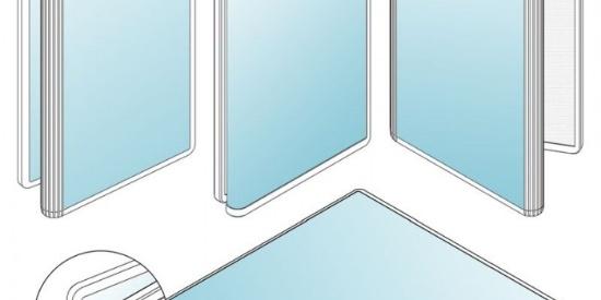 三星Z字形双折叠手机专利曝光:超大屏幕 窄边框