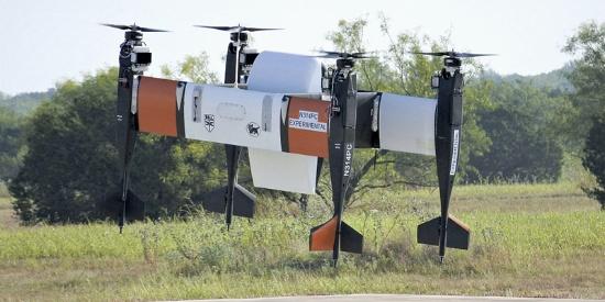 美日联合研发的新款无人机成功试飞 可载重数十公斤