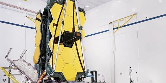 """NASA完成""""韦伯""""太空望远镜组装 将接替""""哈勃"""""""