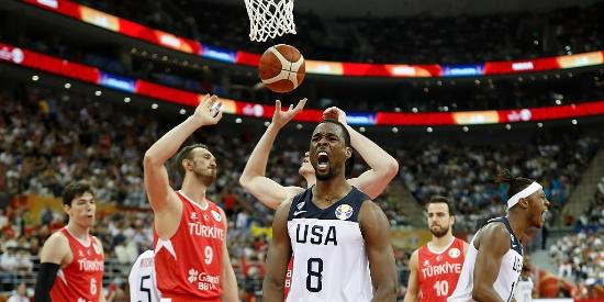 篮球世界杯:加时4罚不中 土耳其1分憾负美国男篮