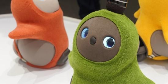 日本创业公司推出治愈型机器人 像天线宝宝萌化人心