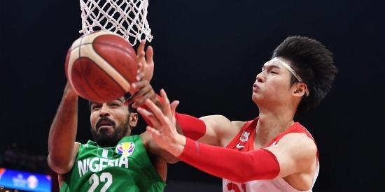 篮球世界杯中国队负于尼日利亚队 未能直通东京