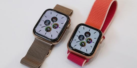 Apple Watch 5真机图赏:全新屏幕永不息屏